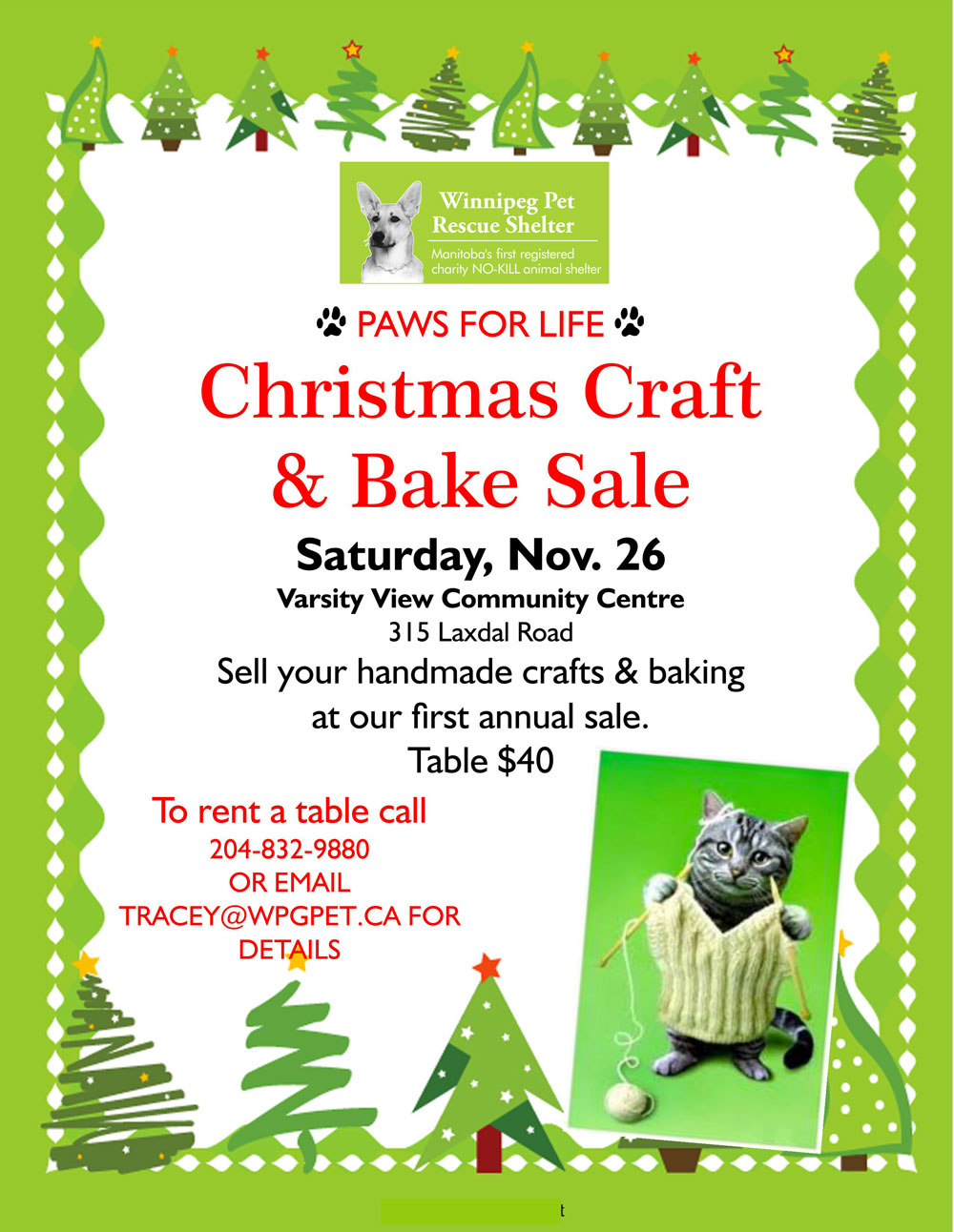 Winnipeg Christmas Craft Sale