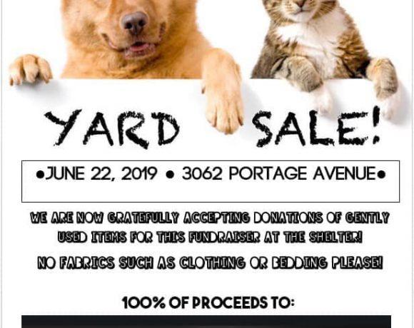 Pet Rescue Yard Sale